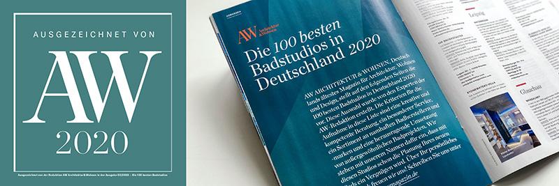 August Theben - News 01 - Architektur und Wohnen Top 100-2020