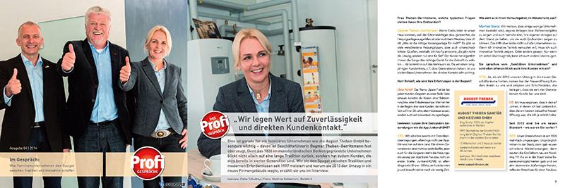 August Theben - News 03 - SHK-Profil