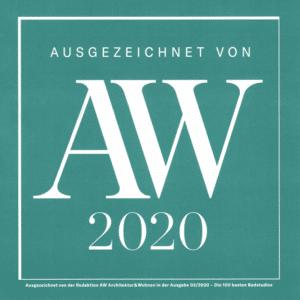 Architektur & Wohnen 2020 - Die 100 besten Badstudios Deutschlands
